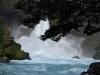 Huilo Huilo waterfall