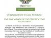 Congratulations to Casa Veintiuno
