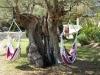 Hangmatten in de tuin