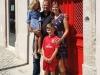 Koen Van Nuffelen en Ylvi Van Vlerken met kids Yuna & Kasper - Casa René