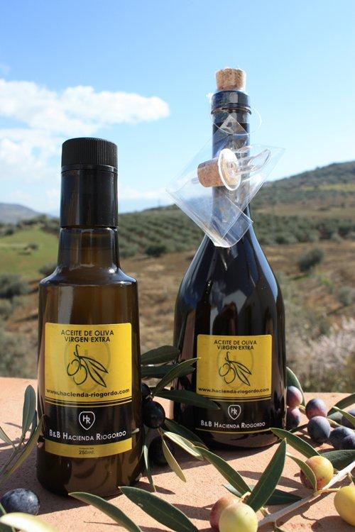 De olijfolie van Hacienda Riogordo