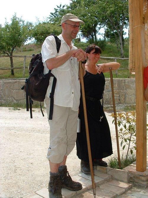 Agriturismo La Vallata - Logeren bij Belgen in Italië