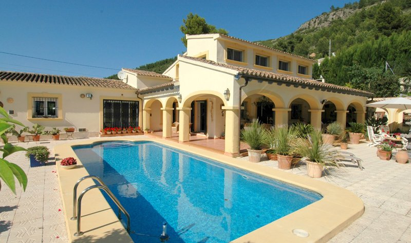 Casa Orbeta - Logeren bij Belgen in Spanje