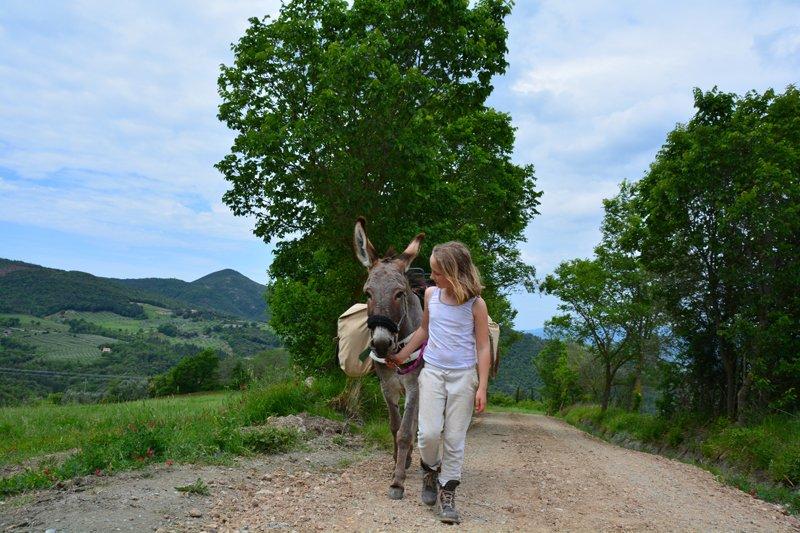 Altratoscana - Trektochten per Ezel in Toscane