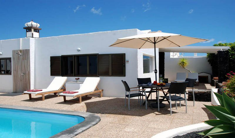 Casa Azmira del Mar - Logeren bij Belgen op Lanzarote