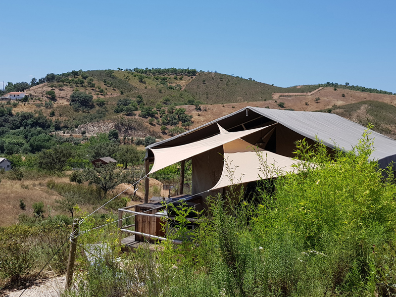 Algarve Safari Lodge (Glamping) - Logeren bij Landgenoten in Portugal
