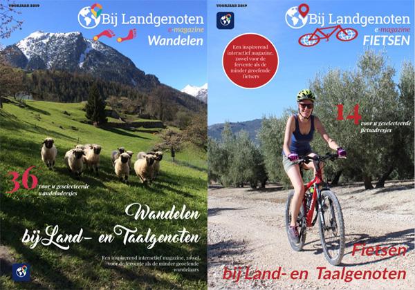 Digitale Magazines Wandelen & Fietsen